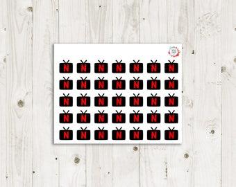 Netflix Stickers  - ECLP Sticker