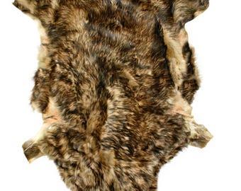 Glacier Wear Tuscan Lamb Hide Pelt Fur Coyote Color shp6115