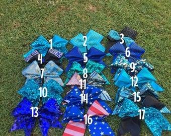 BLUE 5 bow sale