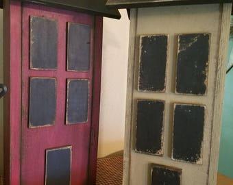 Saltbox house, Handmade wooden saltbox house,  country decor,  primitive decor