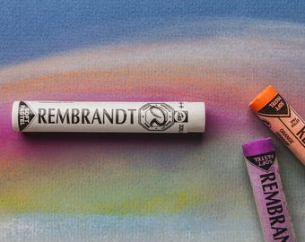 Rembrandt Soft Pastels CUSTOM Full Stick Set PART TWO Artists Professional Dry Pastel colours paints