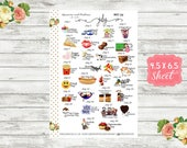 Celebrate July Planner Stickers - Special Days Stickers - National Holiday Stickers - Wacky Holiday Sticker - Holiday Planner Sticker - WH07