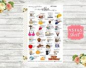 Celebrate October Planner Sticker - National Holiday Sticker - Special Days Sticker - Wacky Holiday Sticker - Holiday Planner Sticker - WH10
