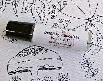 Chocolate Perfume - Death by Chocolate Perfume - Perfume Oil - Bakery Perfume - Dessert Perfume - Handmade