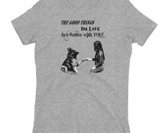 German Shepherd T shirt, Women's t-shirt