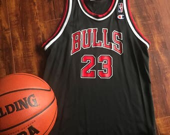 Retro Champion Chicago Bulls Jersey ~ Michael Jordan #22 Champion Jersey LYouth