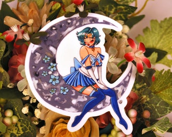 Pin Up Sailor Mercury sticker