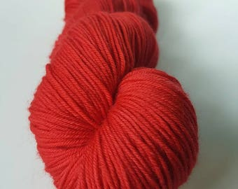 TO order - skein of Superwash Merino / Nylon - hand - dyed Fingering / Sock - color O +