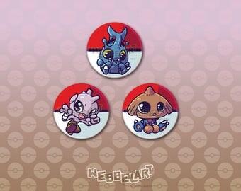 Second Generation Fighting pokémon button