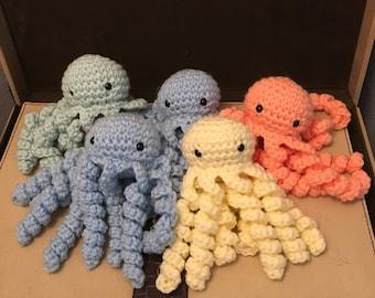Crochet Octopus - Larger Size