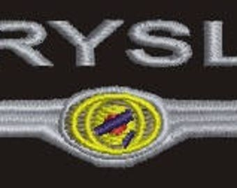 CHRYSLER  Machine Embroidery Design