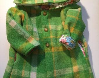 Pure wool coat size 4