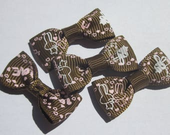 4 nodes in 34 mm approx - patterned fabric (A36