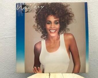"""Whitney Houston - """"Whitney"""" vinyl record w/ Bonus 45 RPM, 7 inch record"""