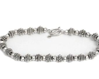 Silver Filigree Bracelet Jewelry