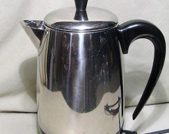Rebuilt/refurbished Farberware Model 138 2 - 8 Cup SS  Coffee Percolator  940
