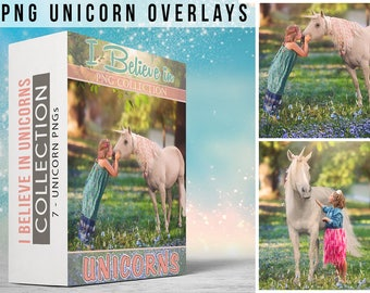 7 - PNG - I Believe In UNICORNS - PNG - Collection