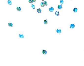 Swarovski 18x13mm Chrysolite Vitrail Light A4565 Crystal Octagons