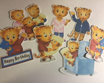 Daniel Tiger and Family Die Cuts