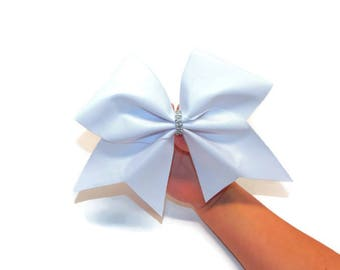 Bright White Cheer Bow