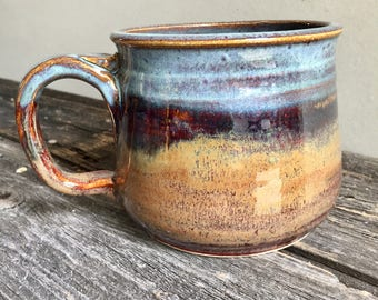 Mug Ceramic Handmade wheel thrown pottery