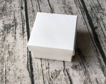 30x White Bomboniere Favour Boxes - Wedding & Party Gift Box - Chocolate Candy Cookie Box - Christmas Gift Box