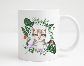 Cat Mug - Cat Lovers Mug - Cat Lovers Gift - Stocking Filler - Secret Santa Gift - Gift Under 5 dollars - Gift Under 5 Pounds - Christmas