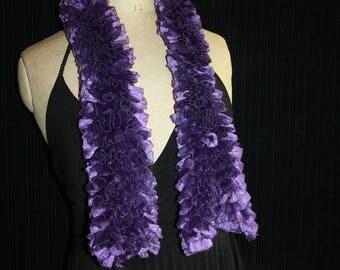 fancy frou-frou scarf