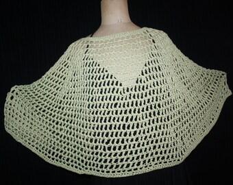 short poncho or heater shoulder