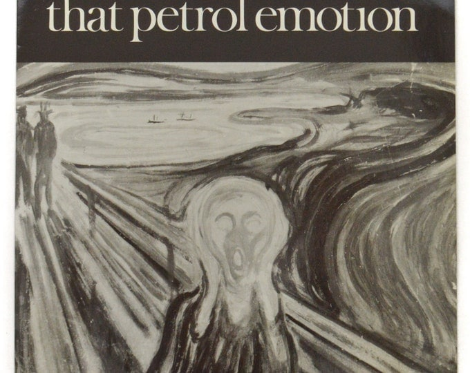 Vintage 80s That Petrol Emotion Keen Picture Sleeve 45 RPM Single Record Vinyl