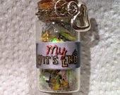 Custom Bottle Necklace for Lori
