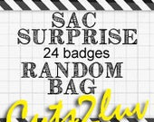 Bag bag 24 surprise/Random badges (10 exclusive badges)