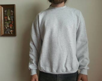 80s Jerzees Gray Sweatshirt!