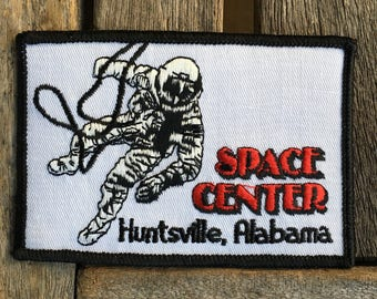 Space Center Huntsville Alabama Vintage Souvenir Travel Patch