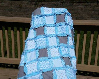 Minky Rag Quilt