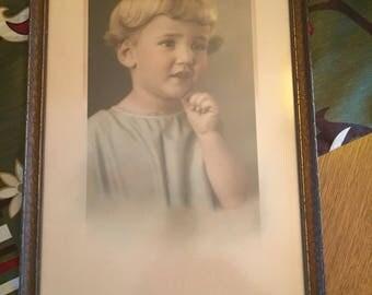 Antique Framed Portrait (1925)