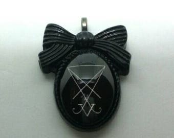 Lucifer Sigil Necklace Pendant