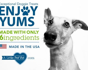 Enjoy Yums Only 6 ingredient Doggie Treats
