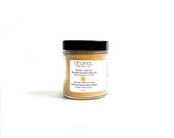 Natural Sunscreen with Zinc Oxide.Vegan Sunscreen. Organic Sunblock. All Natural Sunblock. Baby safe Sunscreen.Organic Sun Screen