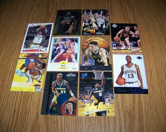 50 Indiana Pacers Basketball Cards