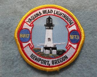 Yaquina Head Lighthouse, Newport Oregon Patch