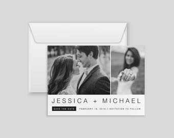 Save the Date | Save the Date with Pictures | Downloadable Save the Date | Custom Save the Date | Printable Save the Date