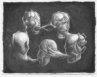 Violence - Original Drawing