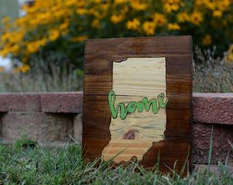 Home | Wood burnt sign