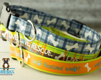 Rescue dog collar set - Buy 25