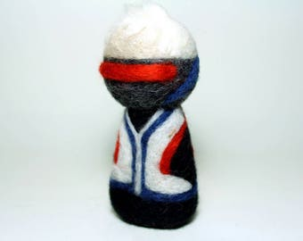 Needle Felted Soldier 76 Overwatch Doll [MADE-TO-ORDER]