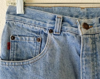 919 Levi Jeans Women Denim Styled USA 80s Rare Red Tab