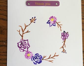 Hand-Made Thank You Card