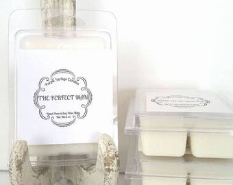 The Perfect Man soy wax melt, Gifts for him, wax melt, Cologne scent, Man scent, Man candle, Masculine, Vegan, Free shipping, gift for him