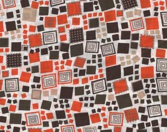 Cotton 50's geometric patterns